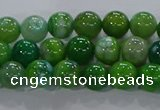 CAA1066 15.5 inches 6mm round dragon veins agate beads wholesale