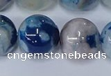 CAA1086 15.5 inches 16mm round sakura agate gemstone beads