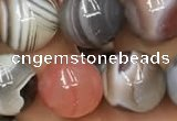 CAA1254 15.5 inches 12mm round Botswana agate beads wholesale