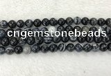 CAA1834 15.5 inches 12mm round banded agate gemstone beads