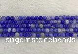 CAA1941 15.5 inches 6mm round banded agate gemstone beads