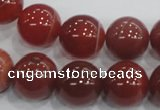 CAA206 15.5 inches 14mm round madagascar agate beads wholesale