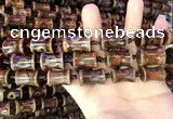 CAA2661 15.5 inches 14*21mm - 16*24mm bone tibetan agate dzi beads