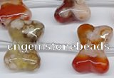 CAG3613 15.5 inches 18*25mm - 20*30mm bone sakura agate beads