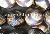 CAA3914 15 inches 10mm round tibetan agate beads wholesale