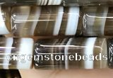 CAA3945 15.5 inches 8*20mm tube Madagascar agate beads wholesale
