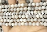 CAA4928 15.5 inches 6mm round grey agate beads wholesale