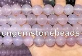 CAA5086 15.5 inches 16mm round purple agate beads wholesale