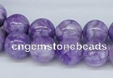 CAB175 15.5 inches 12mm round purple crazy lace agate beads