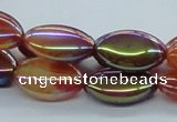 CAB535 15.5 inches 12*20mm marquise AB-color red agate beads