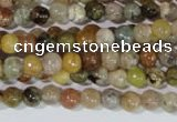CAG1700 15.5 inches 4mm round rainbow agate beads wholesale