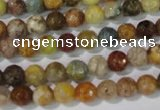 CAG1711 15.5 inches 6mm faceted round rainbow agate beads