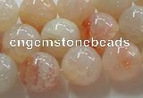 CAG241 15.5 inches 16mm round dragon veins agate gemstone beads