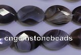 CAG4465 15.5 inches 15*20mm faceted oval botswana agate beads