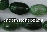 CAG5408 10*14mm – 20*30mm faceted drum dragon veins agate beads
