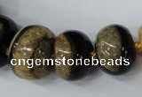 CAG5439 7*11mm – 20*30mm rondelle agate druzy geode agate beads