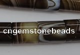 CAG5920 15 inches 15*18mm tube Madagascar agate gemstone beads