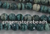 CAG6407 15 inches 10mm faceted round tibetan agate gemstone beads