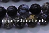 CAG6652 15.5 inches 8mm round blue ocean agate gemstone beads