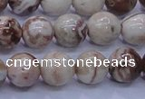 CAG6662 15.5 inches 8mm round Mexican crazy lace agate beads