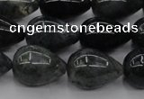 CAG6824 15.5 inches 10*14mm teardrop Indian agate beads wholesale