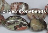 CAG7021 15.5 inches 13*18mm - 15*20mm nuggets ocean agate beads