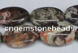 CAG7040 15.5 inches 18*25mm oval ocean agate gemstone beads