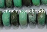 CAG7891 15.5 inches 15*20mm faceted rondelle grass agate beads