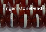 CAG9143 15.5 inches 12mm round tibetan agate beads wholesale