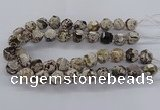 CAG9611 15.5 inches 14*16mm - 15*18mm faceted nuggets ocean agate beads