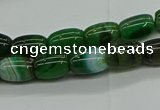 CAG9625 15.5 inches 8*12mm drum dragon veins agate beads wholesale