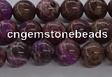 CAG9640 15.5 inches 6mm round ocean agate gemstone beads wholesale