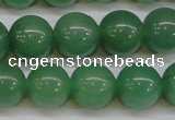 CAJ615 15.5 inches 14mm round AA grade green aventurine beads