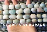 CAM1675 15.5 inches 8*10mm - 15*20mm nuggets amazonite beads