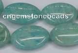 CAM409 15.5 inches 18*25mm oval natural russian amazonite beads