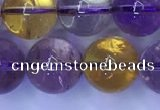 CAN222 15.5 inches 10mm round ametrine gemstone beads wholesale