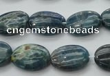 CAP323 15.5 inches 13*18mm oval natural apatite gemstone beads