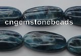 CAP335 15.5 inches 15*30mm oval natural apatite gemstone beads
