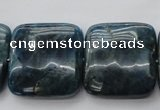 CAP357 15.5 inches 25*25mm square natural apatite gemstone beads