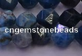 CAP563 15.5 inches 10mm faceted nuggets apatite gemstone beads