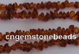 CAR201 24 inches 3*6mm natural amber chips beads wholesale