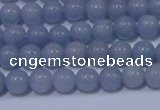 CAS200 15.5 inches 4mm round blue angel skin gemstone beads