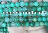 CAU444 15.5 inches 10mm round Australia chrysoprase beads