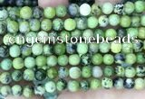 CAU530 15.5 inches 6mm round Chinese chrysoprase beads wholesale