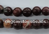 CBD62 15.5 inches 10mm round brecciated jasper gemstone beads