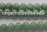 CBJ327 15.5 inches 8mm round AA grade natural jade beads