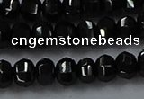CBS529 15.5 inches 3*5mm lantern-shaped natural black spinel beads