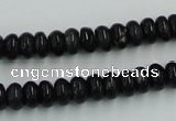 CBT04 16 inches 4*8mm rondelle natural biotite beads wholesale