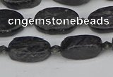 CCG126 15.5 inches 8*12mm oval charoite gemstone beads