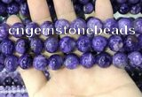 CCG145 15.5 inches 12mm round charoite gemstone beads